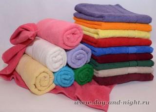Гладкокрашенные полотенца производства Росии, Турции, Италии, Чехии, Узбекистана, Туркмении, Болгарии